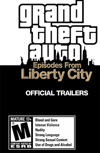 Poster for video game Grand Theft Auto