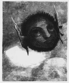 Odilon Redon's Gnome, 1879
